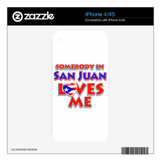 San juan Design iPhone 4 Skin