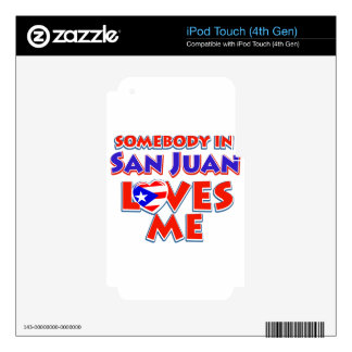 San juan Design iPod Touch 4G Skin