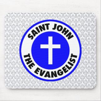 San Juan Evangelista Alfombrillas De Ratones