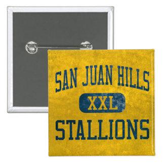 San Juan Hills Stallions Athletics Buttons