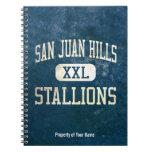 San Juan Hills Stallions Athletics Spiral Notebooks