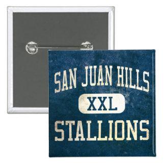 San Juan Hills Stallions Athletics Pinback Buttons