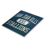 San Juan Hills Stallions Athletics Tile