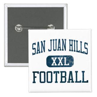 San Juan Hills Stallions Football Pinback Buttons