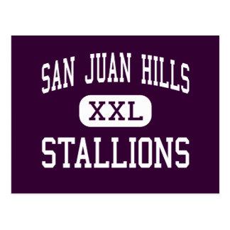 San Juan Hills - Stallions - San Juan Capistrano Postcard