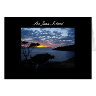 San Juan Island Stationery Note Card