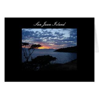 San Juan Island Card