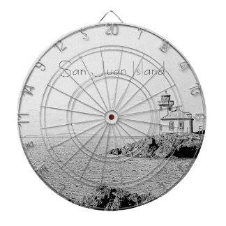 San Juan Island Dart Board