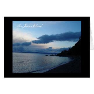 San Juan Island Greeting Card