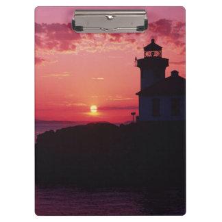 San Juan Island, Lime Kiln Lighthouse Clipboard