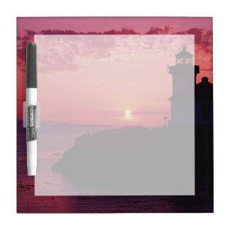 San Juan Island, Lime Kiln Lighthouse Dry-Erase Board