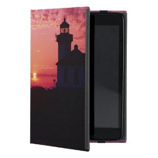San Juan Island, Lime Kiln Lighthouse iPad Mini Cover