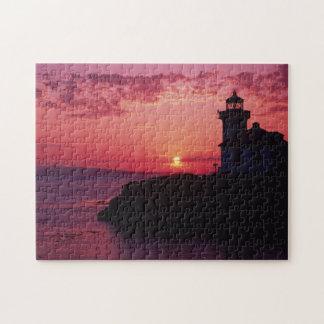 San Juan Island, Lime Kiln Lighthouse Jigsaw Puzzle