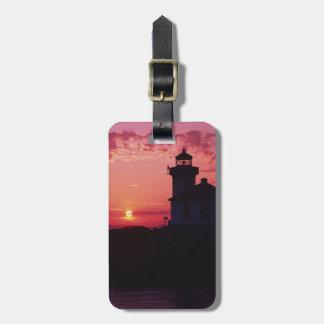 San Juan Island, Lime Kiln Lighthouse Luggage Tag