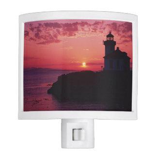 San Juan Island, Lime Kiln Lighthouse Night Light