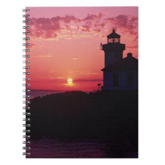 San Juan Island, Lime Kiln Lighthouse Notebook