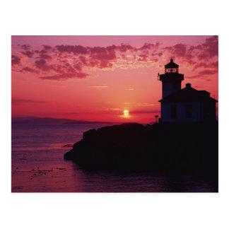 San Juan Island, Lime Kiln Lighthouse Postcard