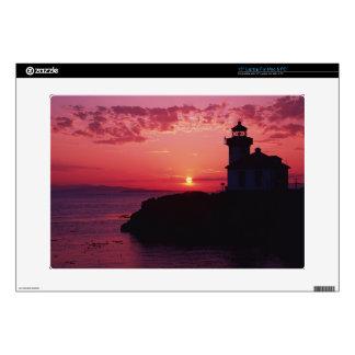 "San Juan Island, Lime Kiln Lighthouse Skins For 15"" Laptops"
