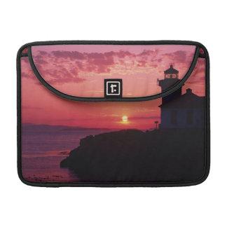 San Juan Island, Lime Kiln Lighthouse Sleeve For MacBooks