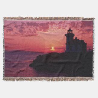 San Juan Island, Lime Kiln Lighthouse Throw