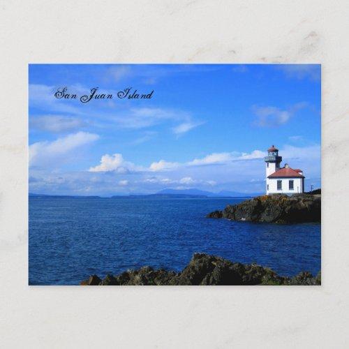 San Juan Island postcard