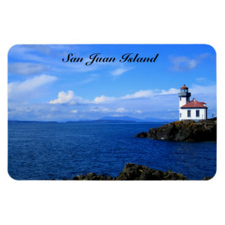 San Juan Island Vinyl Magnet