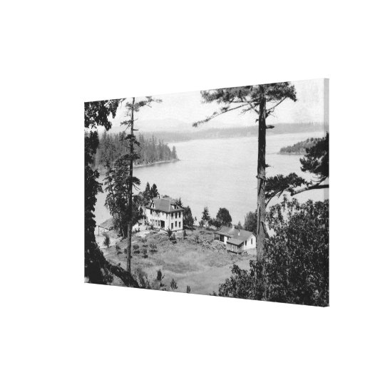 San Juan Island, WAGuam A Lama View Photograph Canvas Print