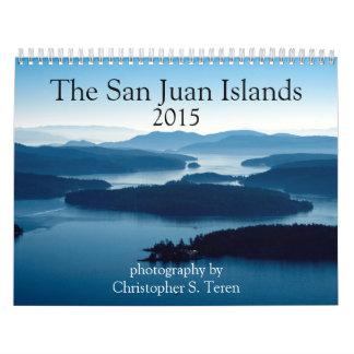 San Juan Islands 2015 Calendar