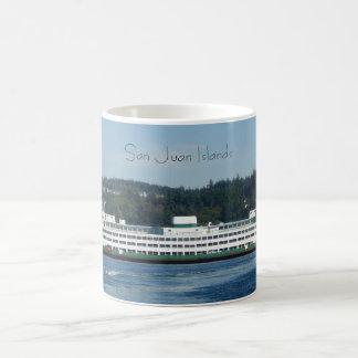 San Juan Islands Classic White Coffee Mug