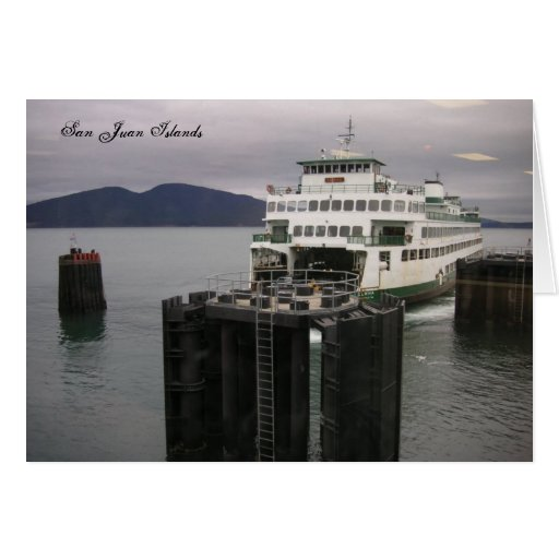 San Juan Islands Greeting Card