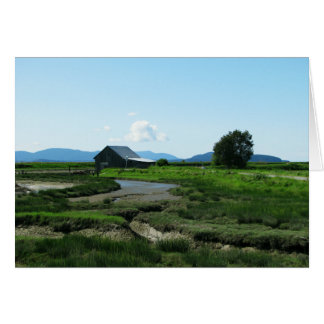 San Juan Islands Hills Card