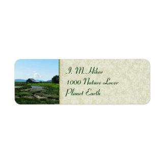 San Juan Islands Hills Label