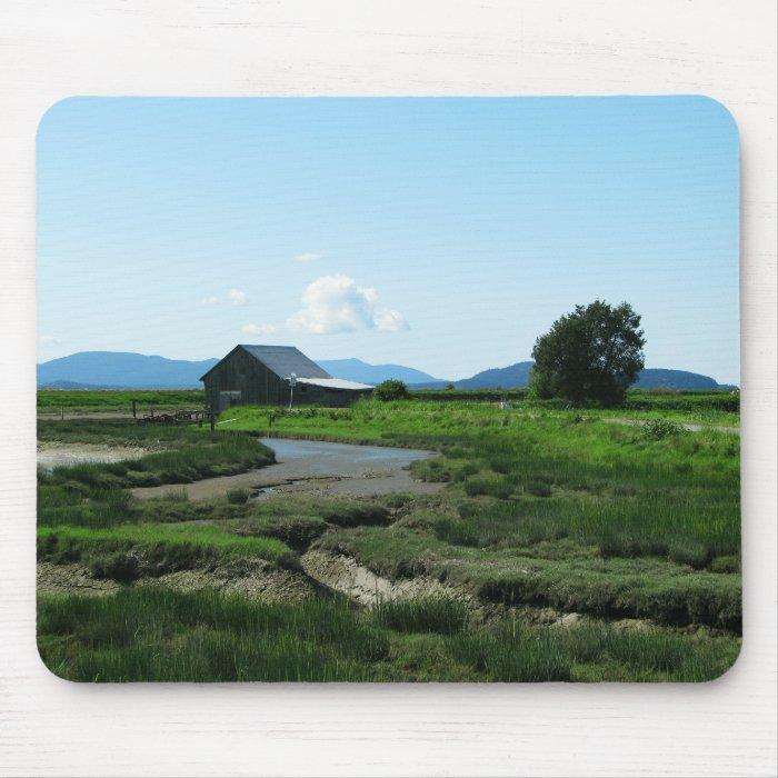 San Juan Islands Hills Mouse Pad