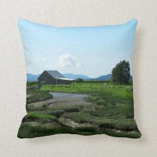San Juan Islands Hills Throw Pillows