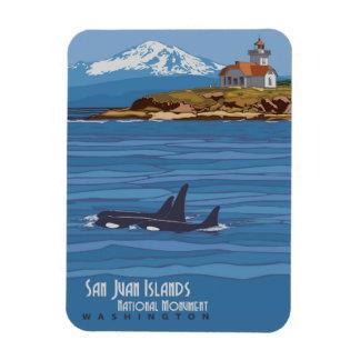San Juan Islands Magnet