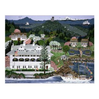 San Juan Islands ~ Rosario Resort ~ Washington Postcard