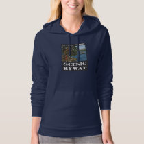 San Juan Islands Scenic Byway Ladies Hoodie