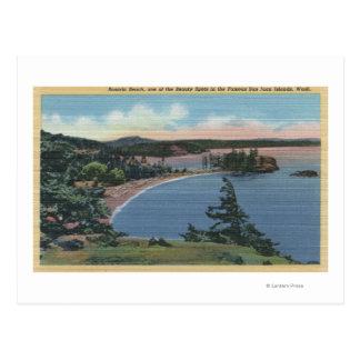 San Juan Islands, Washington Postcard