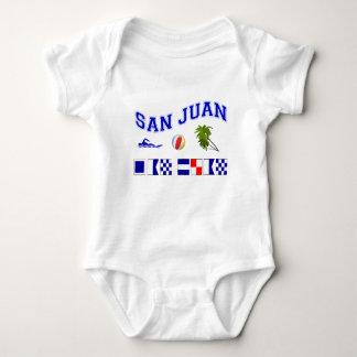 San Juan - Maritime Flag Spelling T-shirt