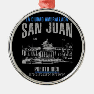 San Juan Metal Ornament