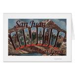 San Juan Nat'l Forest, Colorado Card