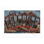 San Juan Nat'l Forest, Colorado Post Card