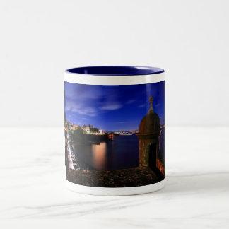 San Juan Night Skyline Coffee Mug
