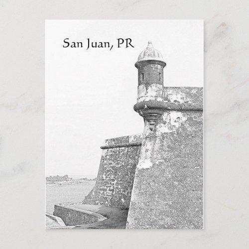 San Juan Postcard postcard