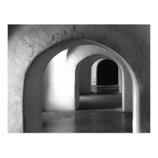 San Juan Puerto - Arches Postcard