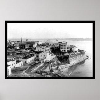 San Juan, Puerto Rico 1905 Poster