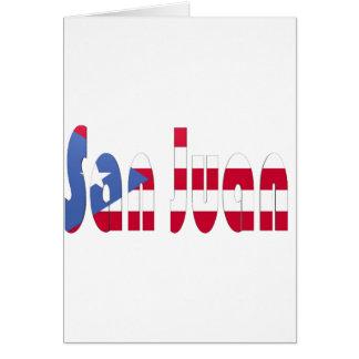 San Juan, Puerto Rico Card