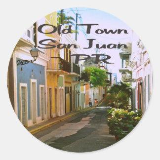 San Juan Puerto Rico Classic Round Sticker