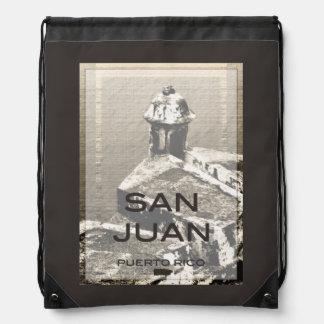 San Juan Puerto Rico Drawstring Backpack