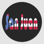 San Juan, Puerto Rico Etiqueta Redonda